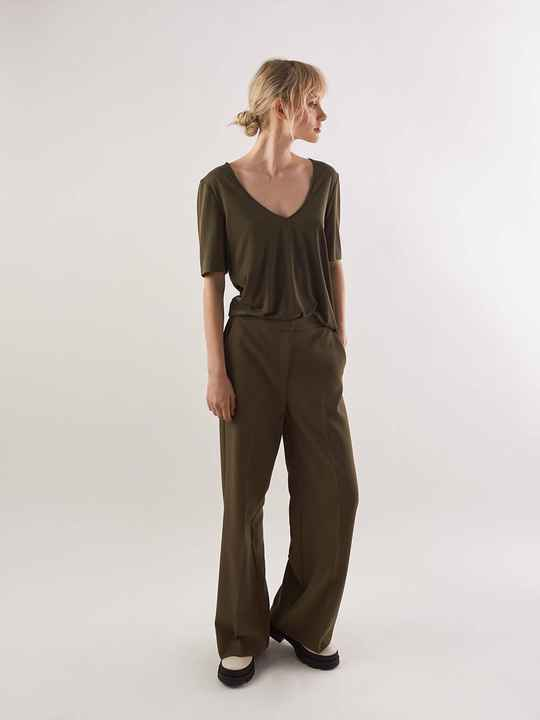 ANOTHER LABEL MOORE PANTS IVY GREEN