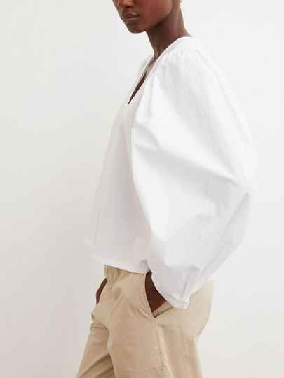 BY MALENE BIRGER DIOSMARA BLOUSE WHITE