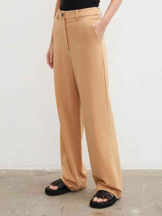 BY MALENE BIRGER LUCIE PANTS TAN