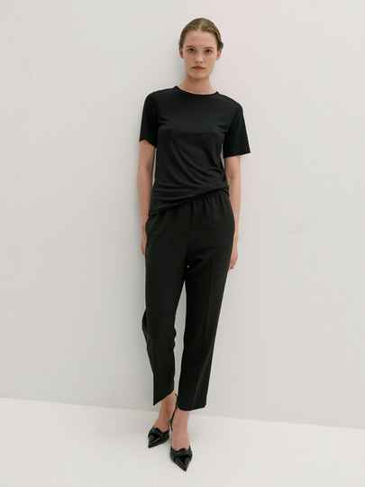 BY MALENE BIRGER AMATTA T-SHIRT BLACK