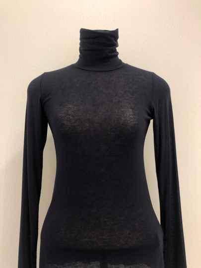 ALPHA STUDIO TURTLE NECK NAVY