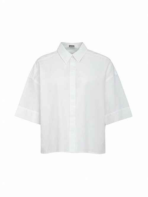 DRYKORN THERRY SHIRT WHITE