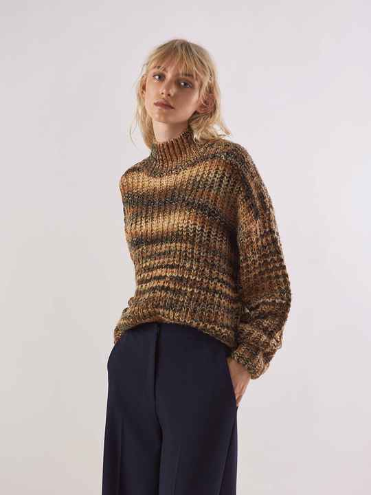 ANOTHER LABEL DYLAN KNITTED PULL MULTI COLOR