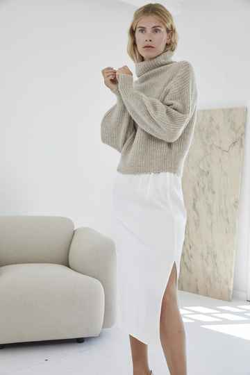 DESIGNERS REMIX EMME SKIRT CREAM