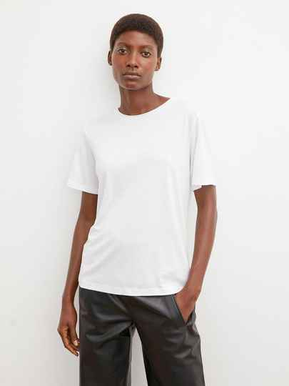 BY MALENE BIRGER AMATTA T-SHIRT WHITE