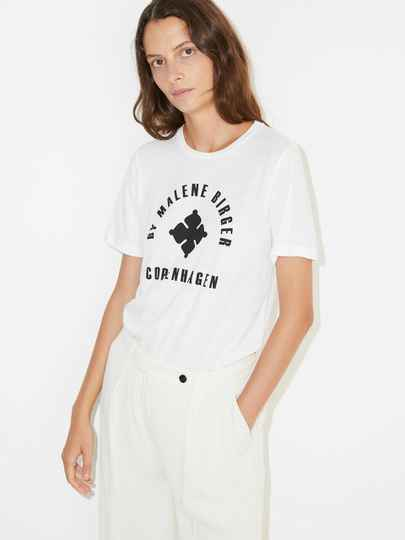 BY MALENE BIRGER NAYAH T-SHIRT WHITE