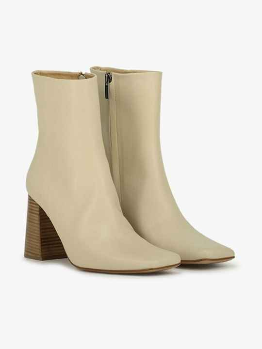 ANOTHER LABEL BENTE ANKLE BOOT CRYSTAL GREY