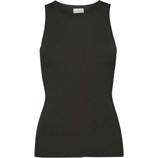 NORR FLORA KNIT TOP BLACK