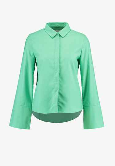 NORR OLIVIA BLOUSE STRONG MINT