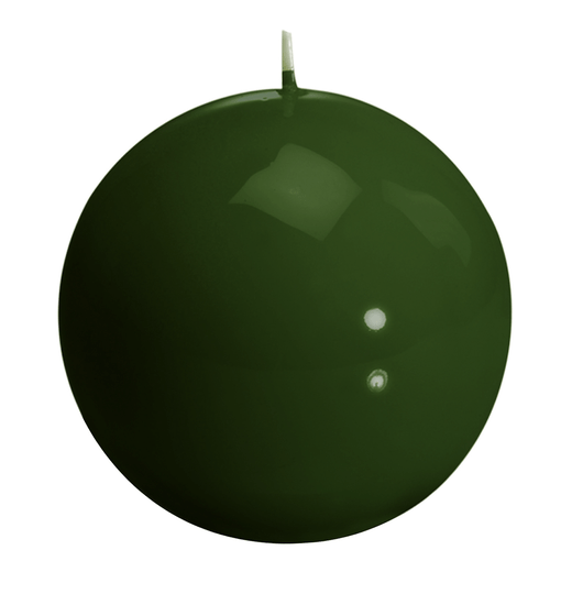 Candle - Graziani - Meloria Ball - 150 classic - Olive Green - MES3C
