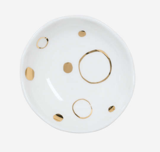 Dish - Small - Good Morning - Circle Gold - 105701 - Urban Nature Culture