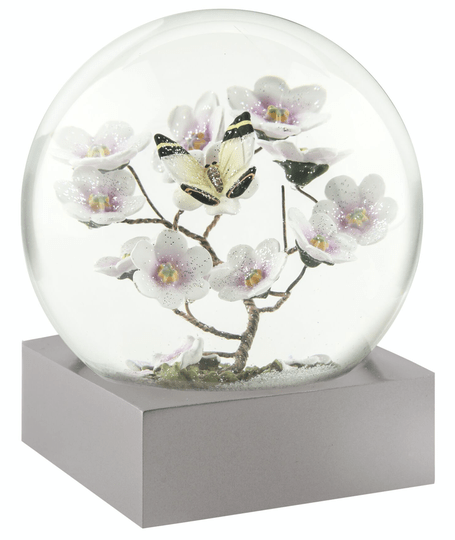 Butterfly on Branch - Snow Globes