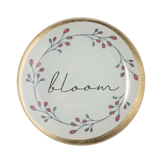 Love plates - Bloom - Rond Smal - Wit - 1053903001