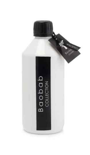Feathers - Black/White - Diffuser - REFILL - Baobab