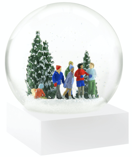 Ice Skaters - Snow Globes