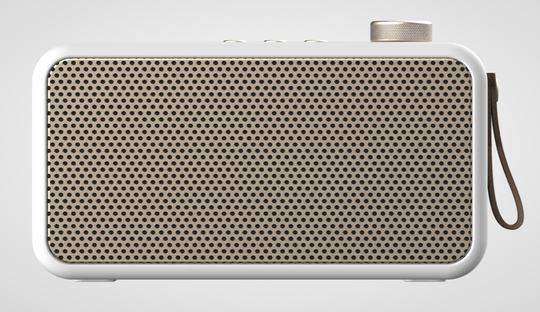 DAB+ radio & Bluetooth speaker - aTune - White - Kreafunk