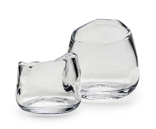 Gommaire - Vase - CUP PUNCH - Large - Clear glass - G2310594L-CL
