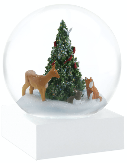 Forest Friends - Snow Globes