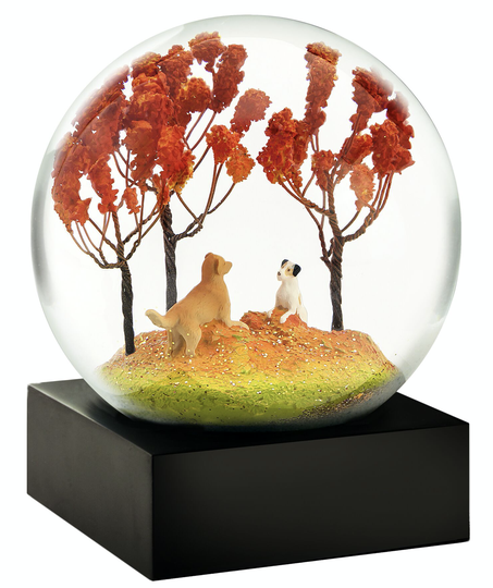 Autumn Pals - Snow Globes