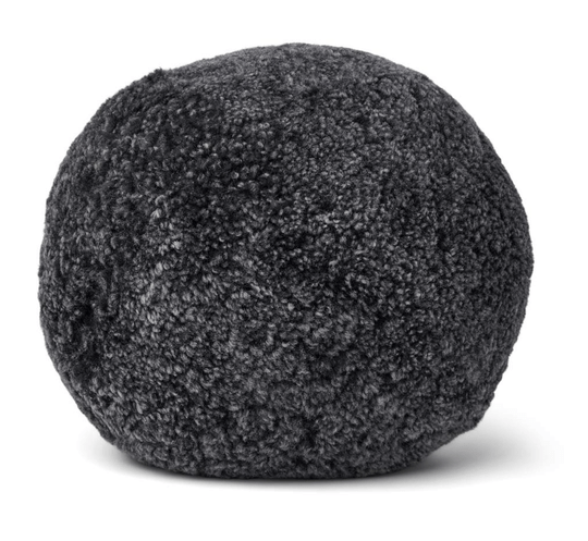 Natures Collection - Round Cushion - Anthracite - D35 cm - NCL5193