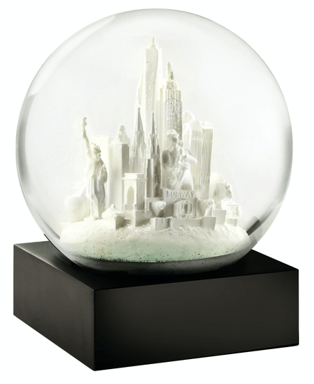 NYC White - Snow Globes