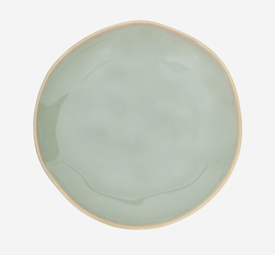 Plate - Grow Reactive Glaze - Green - 105814 - Urban Nature Culture