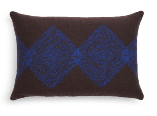 Cushion - Brown Linear Diamonds - Ethnicraft