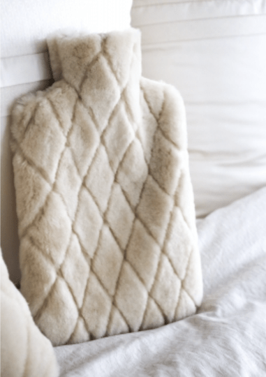 Natures Collection - Leaf hot water bottle - Natural - NCL5176