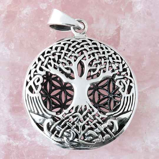 zhx2093 Flower of Life met levensboom
