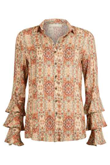Blouse Etruscan printed