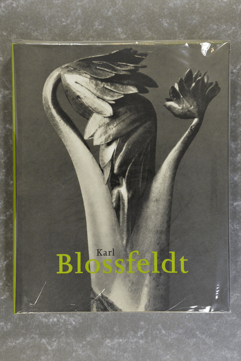 Blossfeldt,  Karl  -  Karl Blossfeldt,  1865-1932  XL-book rare! book is new, unread!