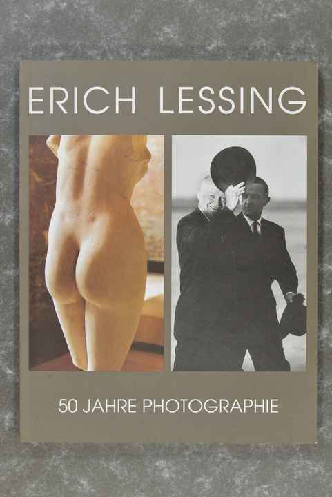 Lessing, Erich  -  50 Jahre Photographie    (Hard to find!)