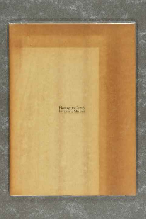 Michals, Duane  -  Homage To Cavafy       (New in plastic!)