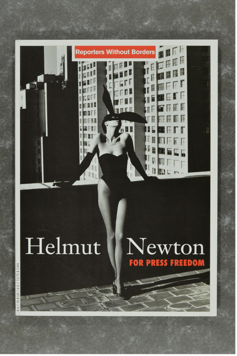 Newton , Helmut - FOR PRESS FREEDOM