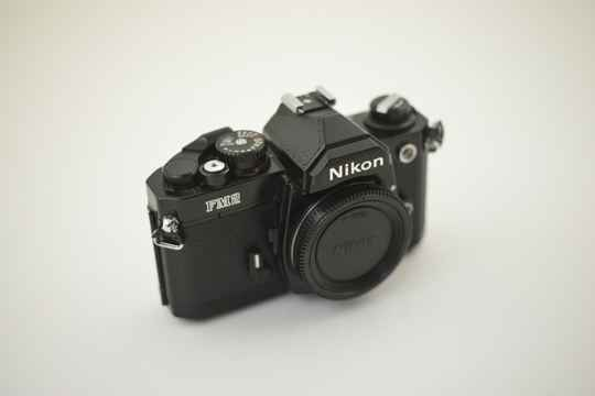 Nikon  -  Nikon FM2n body black ser. nr. N 7746385  almost MINT!