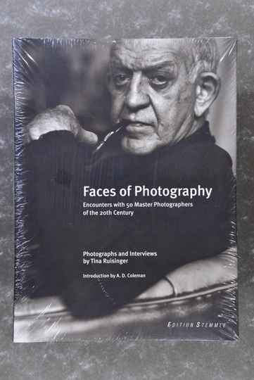 Faces Of Photography - Encounters with 50 Master Photographers of the 20th Century - New in plastic!