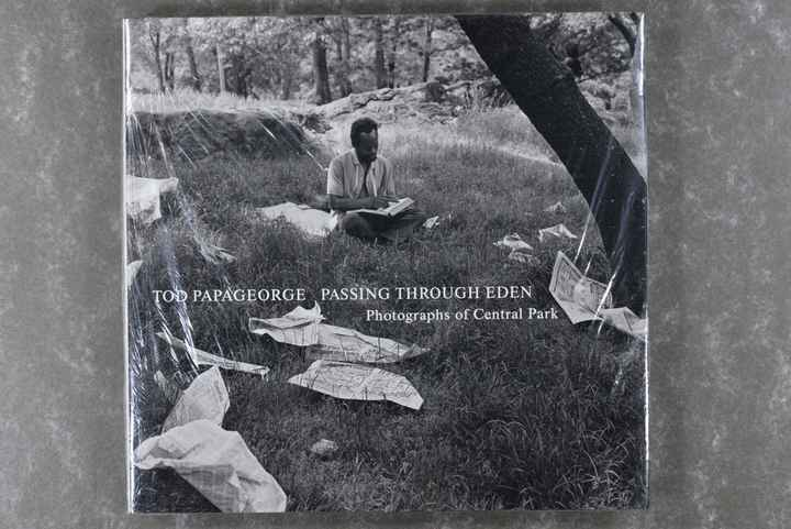 Papageorge , Tod - PASSING THROUGH EDEN      New in plastic!! Rare!  XL-book