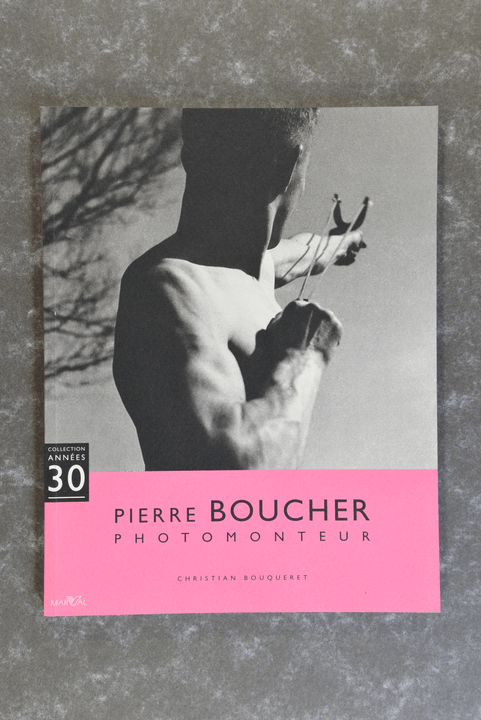 Bouqueret, Christian  -  Pierre Boucher, Photomonteur new in plastic!