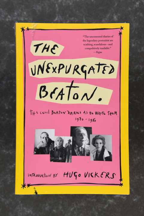 Beaton, Cecil   THE UNEXPURGATED BEATON  isbn  9780786716593