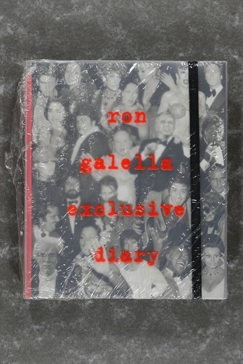 Galella,  Ron  -  Ron Galella: Exclusive Diary       NEW IN PLASTIC! RARE!