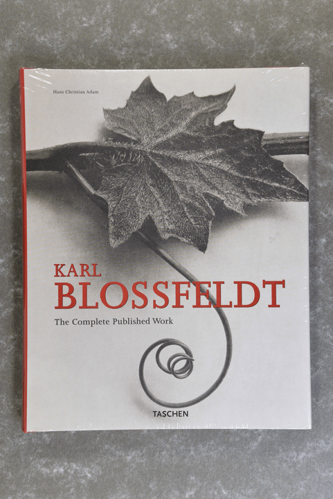 Blossfeldt,  Karl  -  The Complete Published Work   (English, German and French Edition)