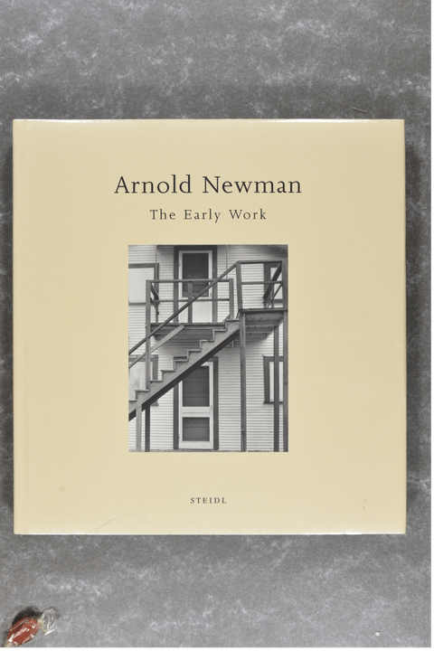 Newman , Arnold - The Early Work      New in plastic!! rare XXL-book!