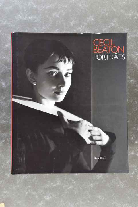 Beaton, Cecil  -  PORTRÄTS  -   beautiful tri-tone XL book!
