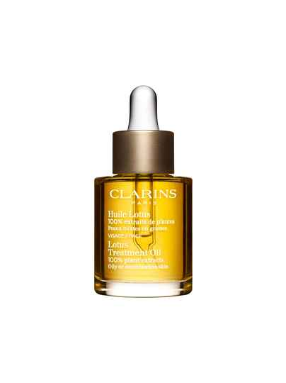 Clarins Lotus Treatment Oil – Combination to oily skin