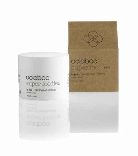 Oolaboo Super Foodies lush styling lotion 100 ml