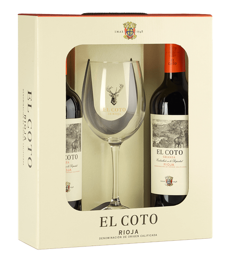 El Coto Crianza Giftpack with Glass