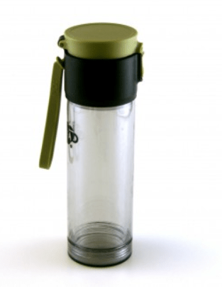 Thermo mok to-go brew en filter kunststof