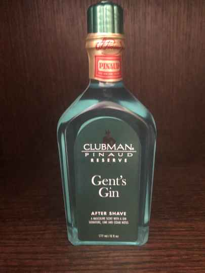 Pinaud Clubman aftershave Gent's Gin