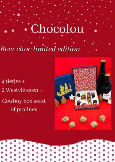 Beer choc limited edition