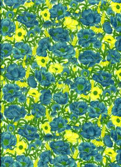 Flowers Blue poppies